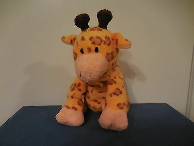TY Pluffies Retired TOWERS the GIRAFFE Plush Stuffed Toy Lovey Orange Brown
