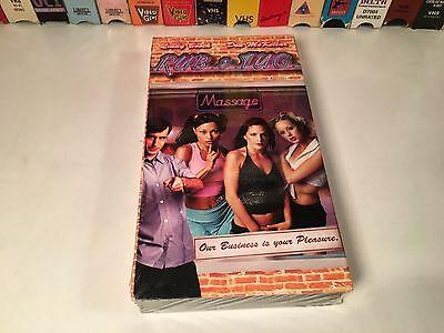 Rub & Tug New Sealed Comedy VHS 2002 Lindy Booth Don McKellar Kira Clavell
