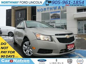 2013 Chevrolet Cruze LT Turbo | SAT RADIO | PHONE CONNECT |