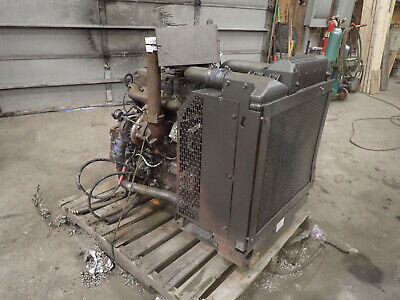 Perkins 1104d-e44ta Turbo Diesel Engine Runs Good Nj Power Unit Cat C 4.4 3054e