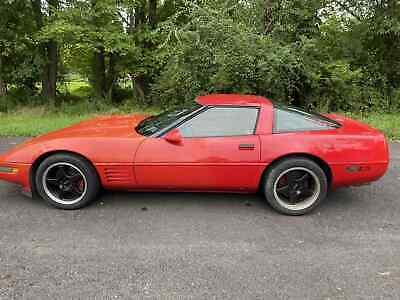 1992 Red Chevrolet Corvette     C4 Corvette Photo 1