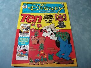 VINTAGE-DISNEY-MAGAZINE-NO-66-BY-LONDON-EDITIONS-MAGAZINES-VERY-RARE-COMIC