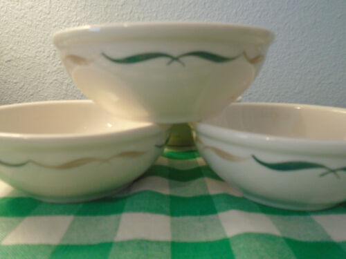 Syracuse China Bowls/ Festival Pattern/ Vintage Restaurant Ware