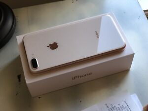 iPhone 8plus Rose Gold 256GB