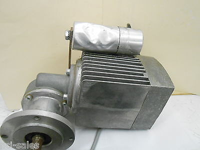 Bauser Emk 8041 Electric Motor 301 Ratio Gear Reducer