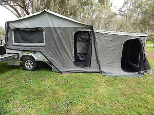 CAMPER TRAILER HARD FLOOR OFF ROAD Andrews Farm Playford Area Preview