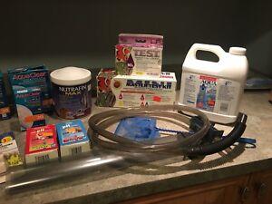 Produits et accessoires pour aquarium de poissons d'eau douce