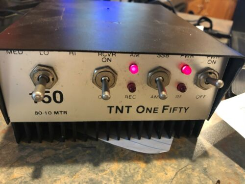 2 Pill Linear Amp 10 Meter Great Working Amp! New Pills