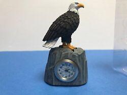 Small Eagle Quartz desk Clock