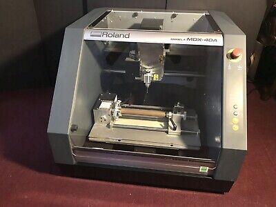 Roland Modela Mdx-40a 3-d Cnc Milling Machine. Slightly Used. 6000 O.b.o.