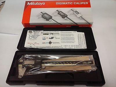 """500-196-30 Mitutoyo ABSOLUTE Digimatic 6"""" Caliper"""