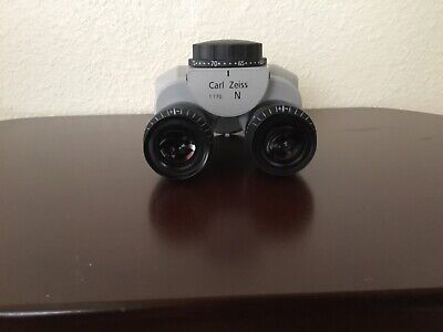 Carl Zeiss Surgical Microscope Head Tilt Head Type Model F170 10x Eyepiece