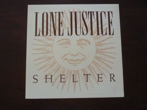 Lone Justice Shelter LP Record Photo Flat 12x12 Poster