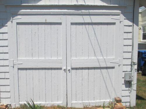 ANTIQUE VINTAGE CARRIAGE DOORS BARN DOOR  approx 92 W x 86 T WE SHIP!!!!!!!