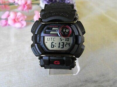Casio G-Shock Men's Quartz Red Accent Black Resin 50mm Watch GD400 A+