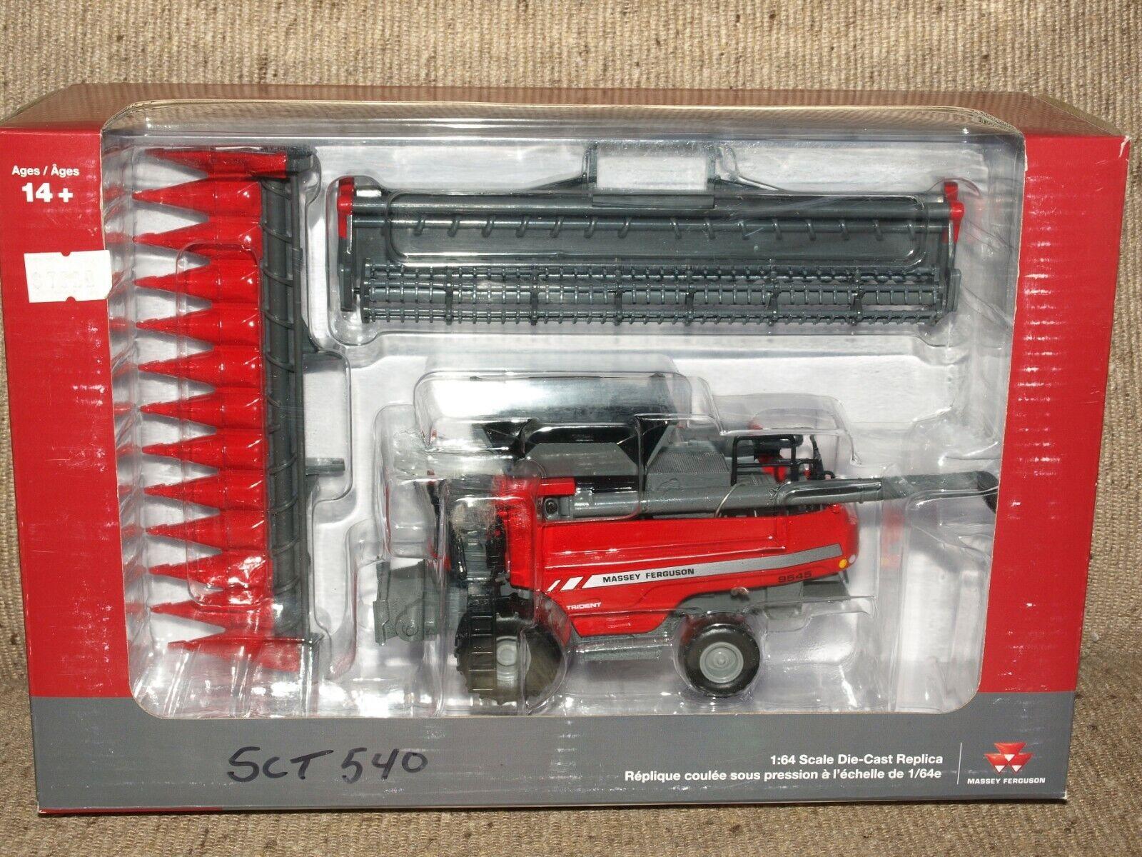 Massey Ferguson 9545 Trident Diecast Combine  1:64 SpecCast SCT 540 Grain/Corn