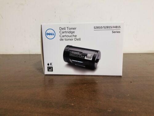 OEM Dell F9G3N Black Toner Cartridge for H815dw S2810dn S2815dn - Brand New