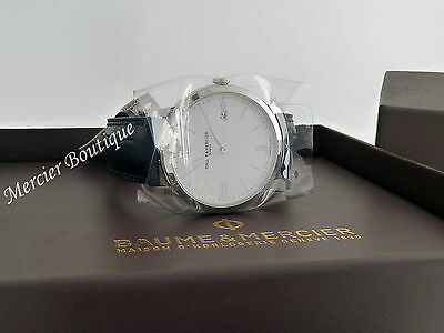 NEW Baume et Mercier Classima Swiss Quartz Men's Watch 10323