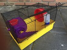 Mouse cage w wheel drip water feeder and play ramp Kersbrook Adelaide Hills Preview