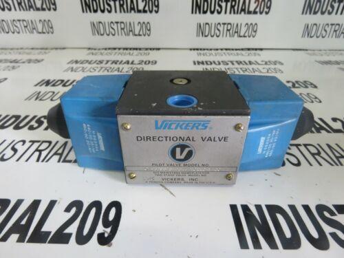 VICKERS HYDRAULIC DIRECTIONAL VALVE DG4S4011CM60 NEW