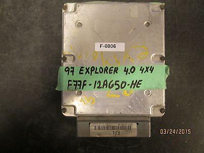 97 EXPLORER 4.0 4X4 F77F-12A650-HE F-0006 *See item description*