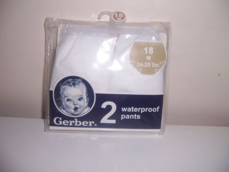 Gerber cloth diaper cover waterproof pants size 18 months