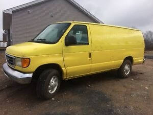 2003 Ford e350 runs and drives good for sale or trade