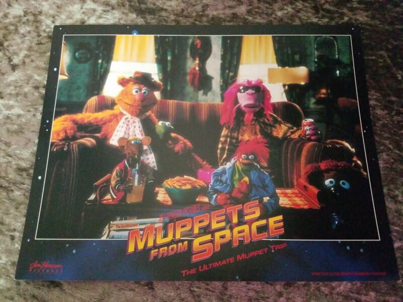 Muppets From Space lobby cards