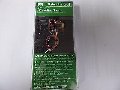 Uhlenbrock 77100 Lokdecoder DCC/MOT H0 hohe Motorlast + Spur 0,1,G m. SUSI  online kaufen
