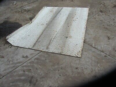 Steel Ramps Dock Loadingunloading 5 Wide X 6 Long With Approximately 4 Rise