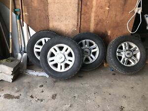 4 F150 Rims with 275/65R18 Hankook Dynapro AT/m