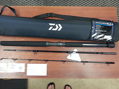 "**NEW Daiwa SAG703MHRS-TR Saltiga G Boat Rod Spinning Travel Rod 7'0"" 3Pc MH"