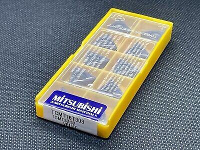 Mitsubishi Tcmt 32.52 Tcmt 16t308 Vp15tf Carbide Inserts 10 Pcs