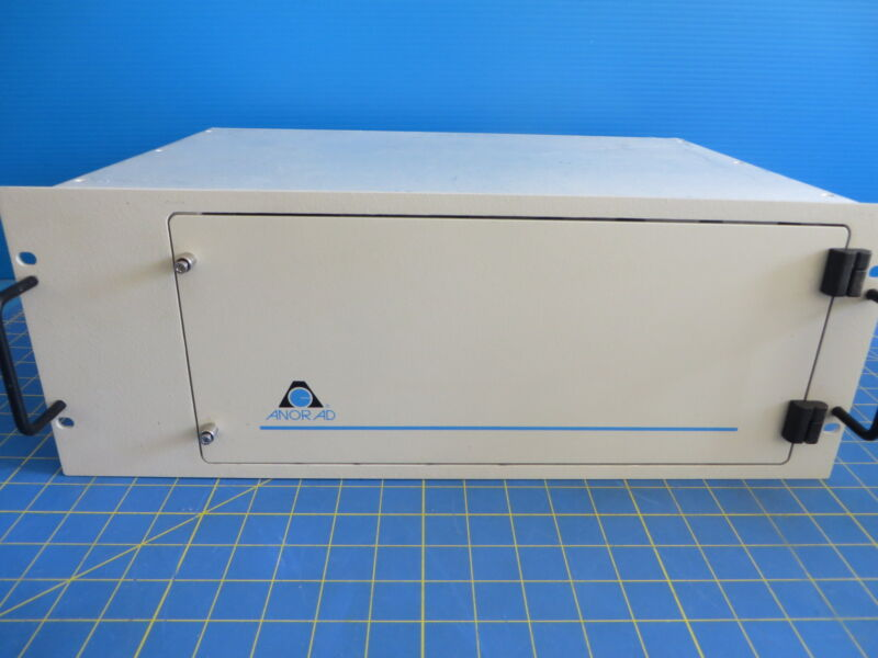 Anorad 11/00 Motion Controller Cabinet w/ Backplane