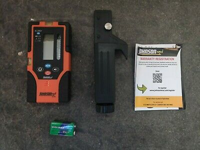 Johnson Level Two-sided Green Beam Rotary Pulsed Line Laser Detector 40-6763