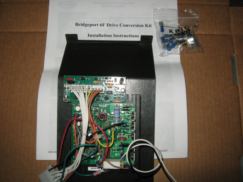 CIRCUIT BOARD FOR 6F POWER FEED BRIDGEPORT REPLACEMENT (CONVERSION KIT) NEW