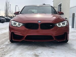 2015 BMW M3 with CPO Warranty until 2022