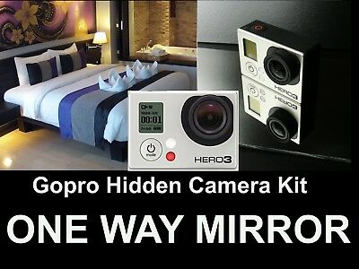 GOPRO 3 Hidden Camera Kit,Turn Your Gopro Into a Spy Camera! One Way Mirror