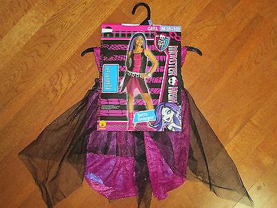 RUBIE'S GIRLS MONSTER HIGH SPECTRA VONDERGEIST COSTUME SIZE 4-6 SM 8-10 MED NEW - Spectra Vondergeist Costume