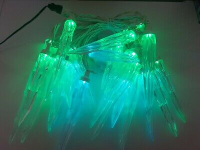 """24 Gemmy """"Orchestra of Lights"""" Multi-Function Color-Changing ICICLE LED Lights"""