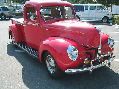 1940 Ford 1/2 Ton Pickup  1940 ford pickup chevy 350,  atuo trans, A/C