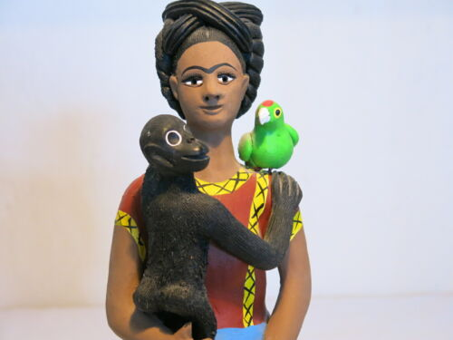 Concepcion Aguillar Frida Kahlo Terracotta Altar Figure