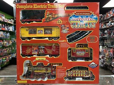 Keystone Circus G Scale Complete Electric Train Set Limited New Sealed  for sale  North Las Vegas