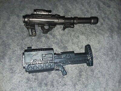 Deadpool Cable cannon bazooka gun weapon lot 6 inch Marvel Hasbro Legends