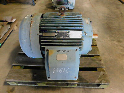 Baldor Reliance Electric Motor 60 Hp 460v 3560 Rpm 364ts 365ts Fr Severe Duty