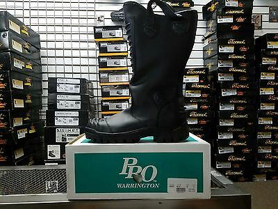 Pro Leather Fire Boots Model 8000 Nfpa 1971 2007 Edition Size 7.5d