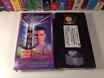 The Excalibur Kid Rare Family Adventure Fantasy VHS 1999 Jason McSkimming OOP