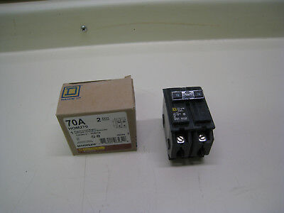 Square D Hom270 70 Amp 2 Pole 70a 2p Circuit Breaker New Free Shipping
