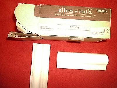 ((16)  GBI Tile & Stone Inc. Allen + Roth FAWN Ceramic CHAIR RAIL Tile # 464023 )