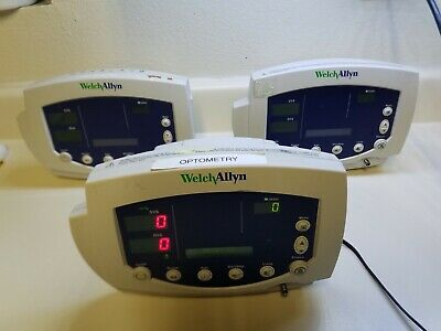 3 Units Of Welch Allyn Vital Signs Monitor 53000 Series